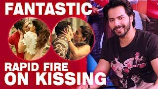 Varun dhawan's fantastic rapid fire on kissing, jacqueline fernandez, taapsee pannu | judwaa 2