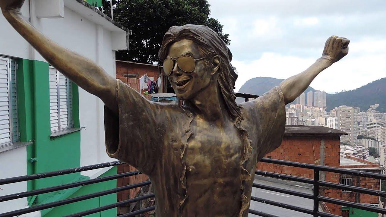 MICHAEL JACKSON STATUE in Rio de janeiro - YouTube