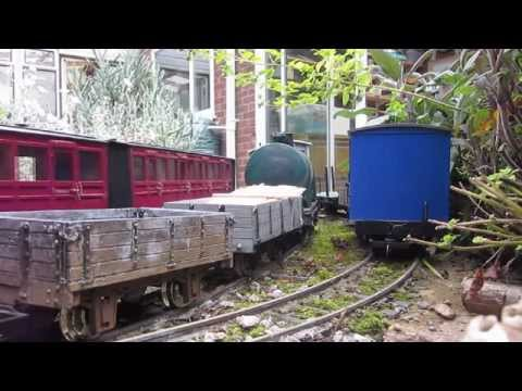 How I constructed a garden railway
