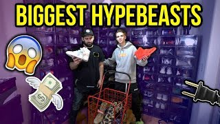 Meeting the Biggest Hypebeast on the West Coast! (Shopping + Collection!)
