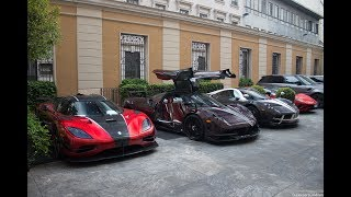 One of the best Combo ever: Agera RS, Huayra BC and Huayra!
