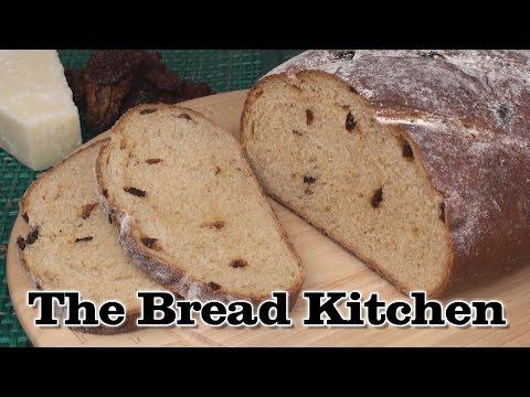 Sun-dried Tomato And Parmesan Bread Recipe In The Bread Kitchen
