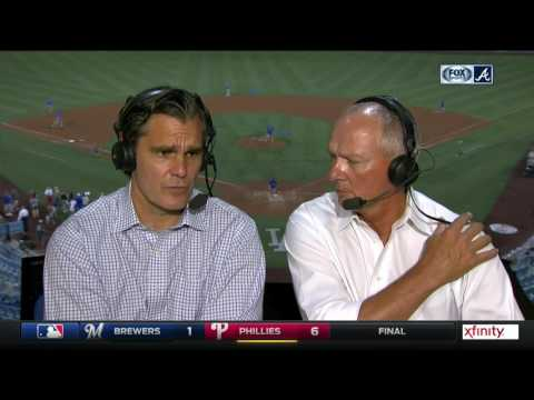 Chip Caray and Joe Simpson recap Braves' rout in L.A.