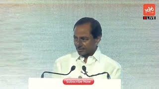 Telangana CM KCR Speech at Global Entrepreneurship Summit in Hyderabad | #GES 2017 | YOYO TV Channel