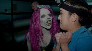 Sasha Banks becomes a WWE Zombie to terrify Raw Superstars