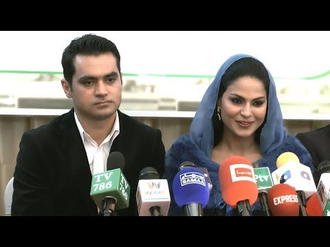 London Media Q&A with Veena Malik after her marriage