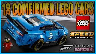 All 18 Lego Cars  POSSIBLE Coming - Forza Horizon 4