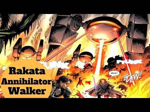 The Rakata's Walker - Rakata Annihilator Walker - Star Wars Infinite Empire Vehicles Explained
