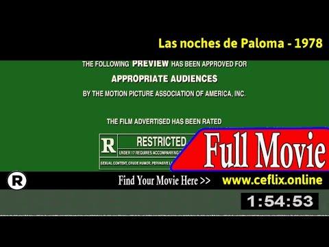 Watch: Las noches de Paloma (1978) Full Movie Online