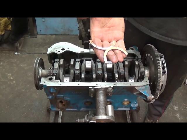 Фото к видео: Мотор 21011 объём 1.6 (часть 1, сборка)