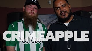 CRIMEAPPLE Freestyle on The Hot Box w/ DJ Enuff