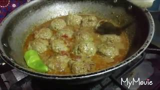 How to cook Koftay (Beef Meat balls) by Farhat