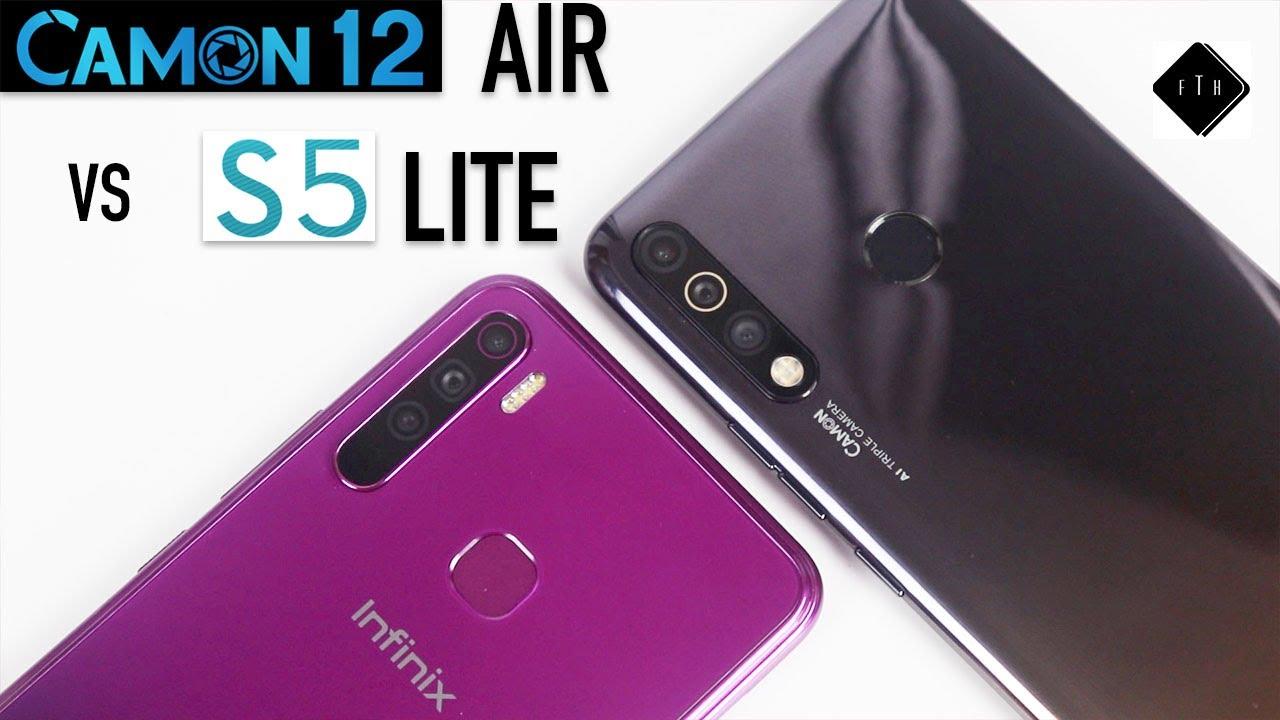 Download Infinix S5 Lite vs Tecno Camon 12 Air Comparison! Which one is Better?