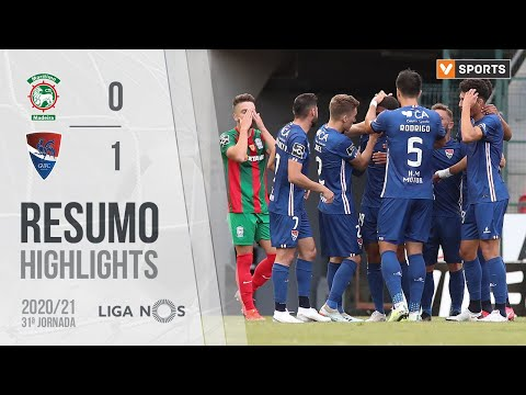 Maritimo Gil Vicente Goals And Highlights
