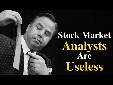 Stock Market Analysts Are Useless