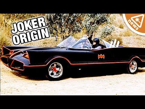 Why Is the Classic Batmobile on the Joker Origin Film Set? (Nerdist News w/ Jessica Chobot)