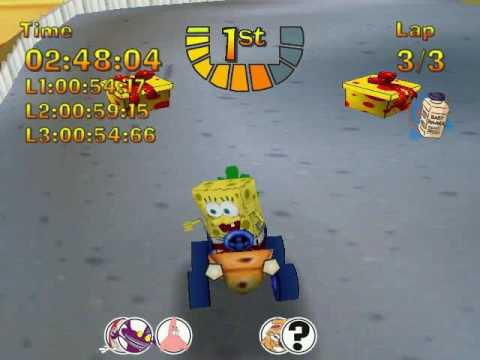 lets play nicktoons racing part 1