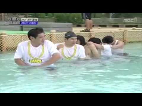 TaecYeon & Nichkhun Swimming Cut