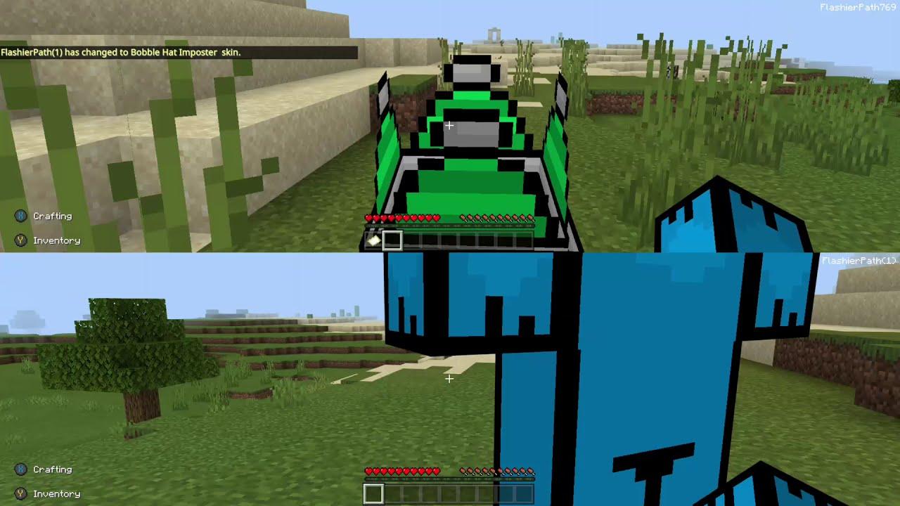 Minecraft Among us skin on Xbox One S - YouTube