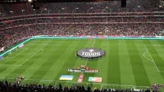 Гимн Украины на матче отбора ЕВРО-2020 Португалия - Украина