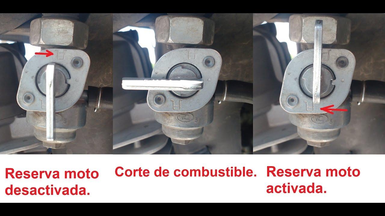 C mo usar la reserva de gasolina en una moto honda italika yamaha suzuki youtube - Como funciona grifo termostatico ...
