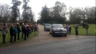 Queen Leaving Sandringham