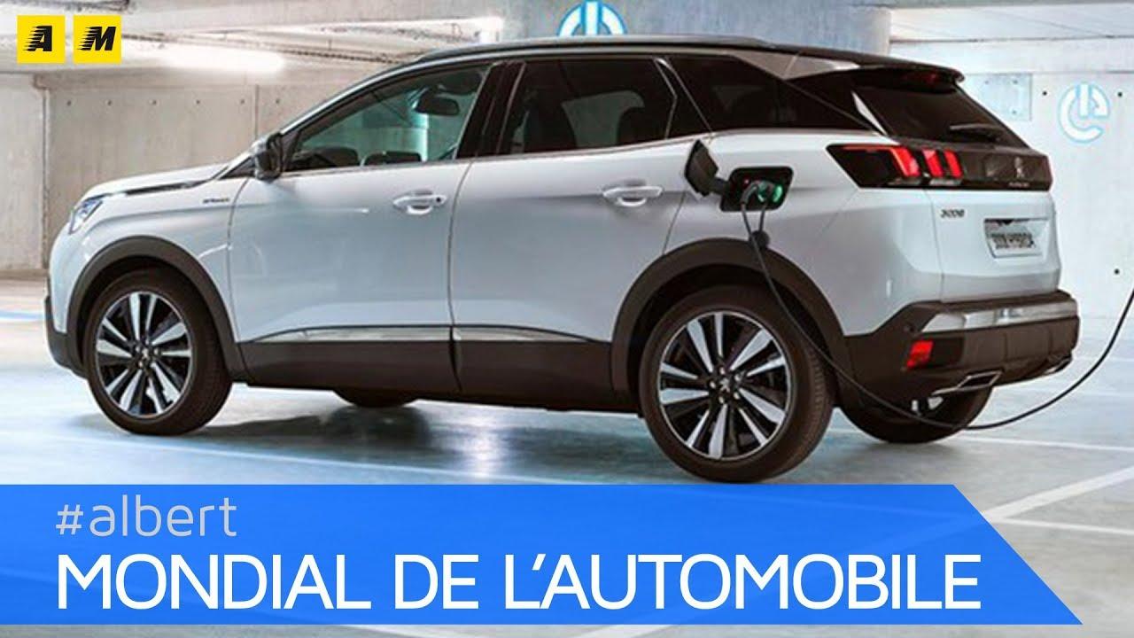 Peugeot 3008 E 508 Ibride E 4x4 Al Salone Di Parigi 2018 English