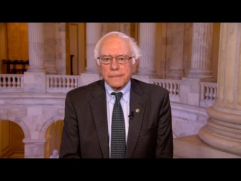 "Bernie Sanders on sexual harassment, ""absurd"" GOP tax bill"