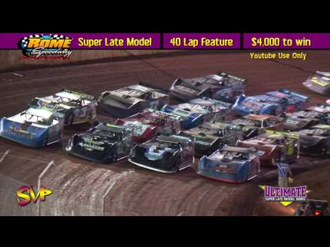 RacersEdge Tv | Rome Speedway | Ultimate SE Supers Late Models | April 24 ,2016