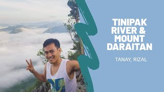 Tinipak River and Mt. Daraitan in Tanay, Rizal