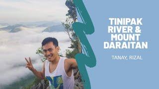 Tinipak River and Mt. Daraitan in Tanay, Rizal