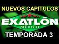 TEMPORADA 3 DE EXATLON CONFIRMADA/  PERO NO TENDRA ATLETAS OLIMPICOS ¡SERÀ UN FRACASO!?