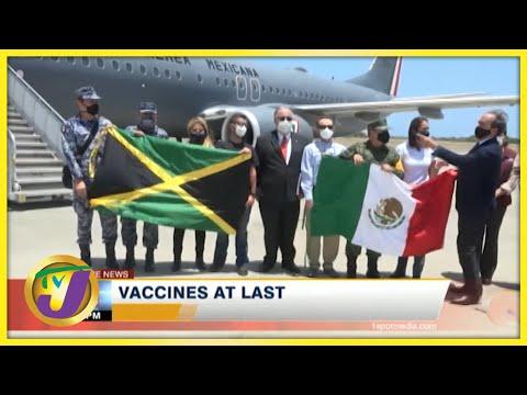 Jamaica Gets Vaccine at Last   TVJ News