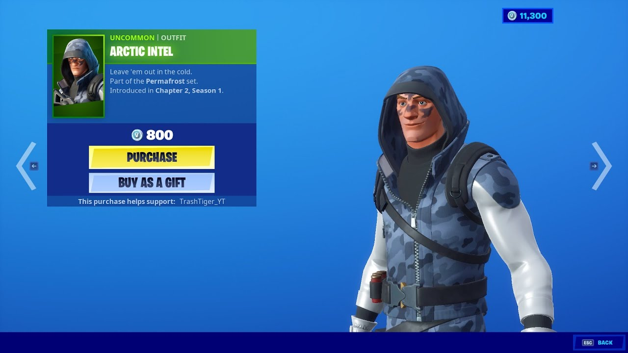 Arctic Intel Skin Fortnite Item Shop 2020 01 19 Youtube In order to enter, you'll need a qualifying device. arctic intel skin fortnite item shop 2020 01 19