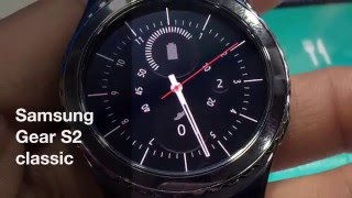 Samsung Gear S2 classic hands on [Hindi]