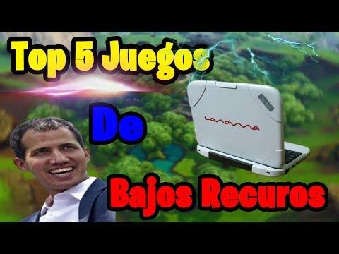 TOP 5  JUEGOS Para CANAIMA (LETRAS ROJAS) [Pocos Y Medios Requisitos] +LINKS #3 | PC 2019|