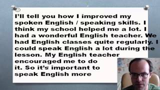 Как я улучшил свой разговорный английский язык