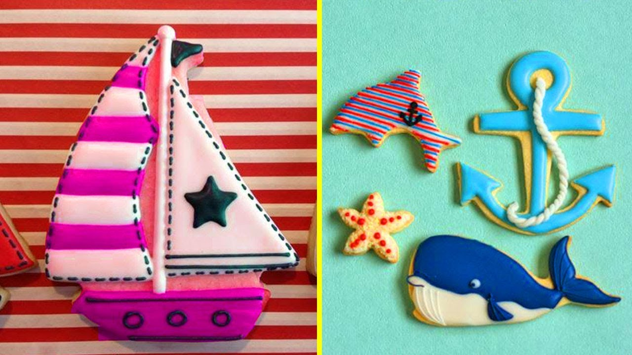 Top 5 Easy Cookies Decorating Ideas With Vehicle -Best Royal Icing Cookie In The World