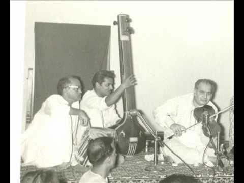 Pandit VG JOG Violin Ut Shaik Dawood Tabla Raag Ahir Bhairav