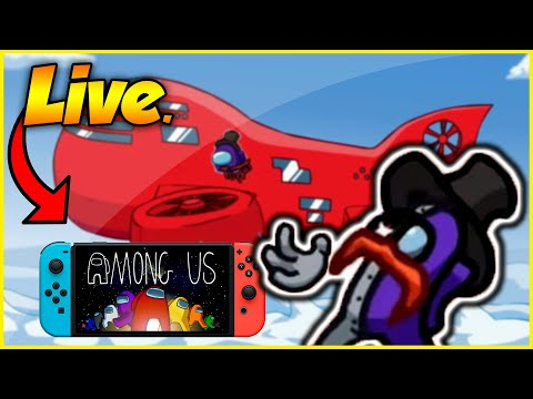 LIVE!  NEW Airship Map W/Viewers | COME PLAY! (Nintendo Switch)