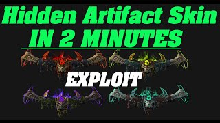Hidden Artifact Skin - IN 2 MINUTES! | Deathwalker - Demon hunter Havoc |