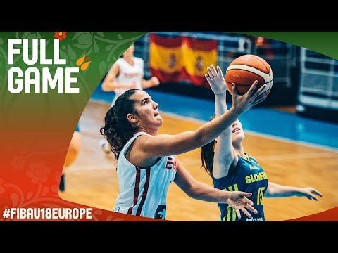 Spain v Slovenia - Full Game - Classification 5-8 - FIBA U18 Women's European Championship 2017