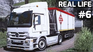 Euro Truck Simulator 2 | Mercedes Actros 1855 Real Engine Voice // Real Life #6