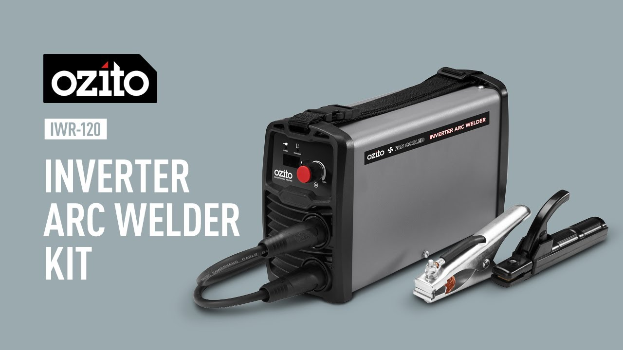 Ozito 120A Inverter Arc Welder - Product Video