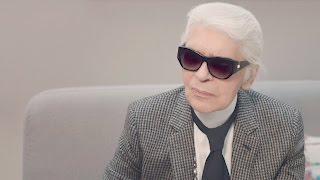 Karl Lagerfeld's Interview - Cruise 2017/18 CHANEL show