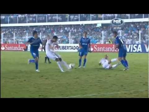 Gol de Alan Kardec Narração Argentina - Santos 1x0 Velez Sarsfield Libertadores 2012