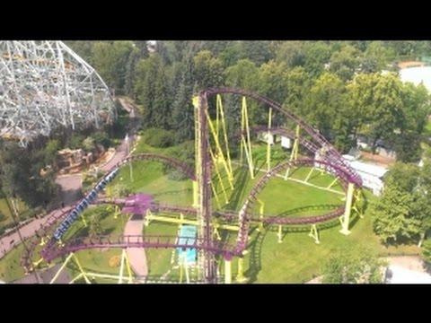 Русские горки Диво остров / Russian Roller Coaster Divo Ostrov
