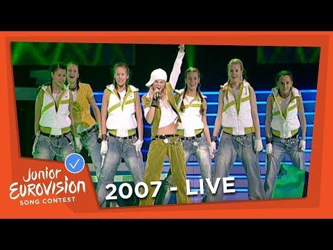 Lina Jurevi�iute - Kai Miestas Snaudžia - Lithuania - 2007 Junior Eurovision Song Contest