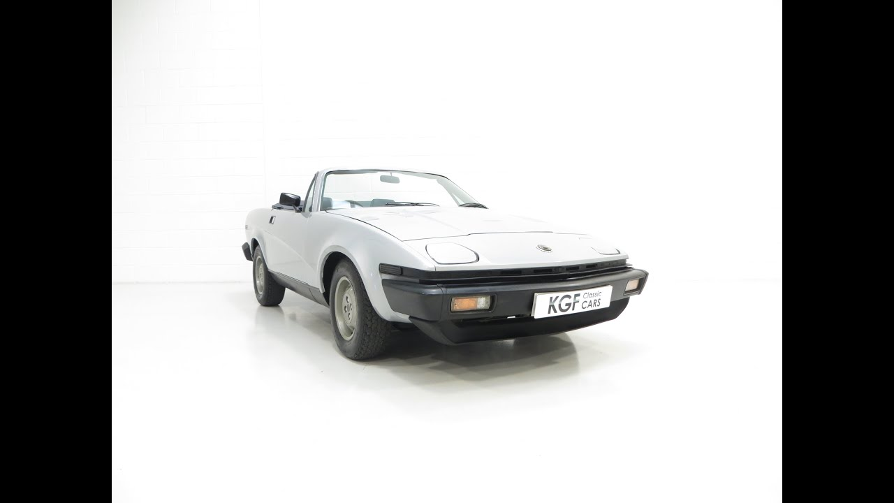 The Ultimate Collectors Triumph Tr7 Drophead With An Incredible