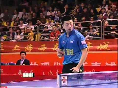 China Super League: Shang Kun - Ma Long  Match
